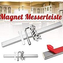 Supporto per coltelli magnetico in acciaio inossidabile da 40 cm - Barra  magnetica professionale per coltelli 8961cedfb428