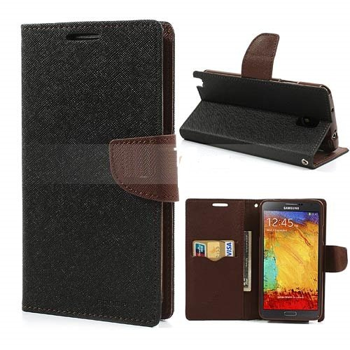 Mercury Goospery Fancy Diary Wallet Case Cover for Galaxy Note 3 Neo
