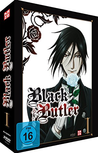 Black Butler - Box Vol.1 (2 DVDs) [Limited Edition]