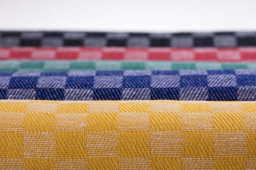 8-er Pack Grubentücher, Geschirrtücher, Trockentücher, in verschiedenen Farben 50 x 100 cm Halbleinen 55% Leinen 45 % Baumwolle CA054 (bunt) (Geschirrtücher 100 Leinen)