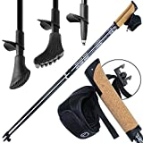 Superleichter Carbon Nordic Walking Stock Walker 5000 Premium Edition