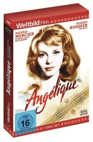 Bild von Angélique - 5 DVD - Die komplette Filmreihe