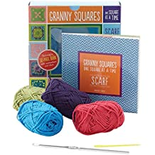 Granny Squares, One Square at a Time / Scarf: Granny Square Scarf