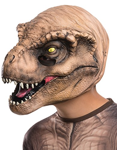 Kid T Rex Kostüm - T-Rex 3/4 Mask, Kids Jurassic World Costume Accessory