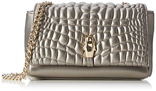 CavalliSmall shoulder bag #TrueDiva 002 - bolsa de medio lado Mujer , color Dorado, talla 21x12x9 cm (B x H x T)