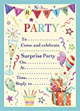 HP172 Einladungskarten für Überraschungspartys, groß