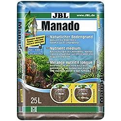 JBL Manado, Suelo Natural para acuarios de Agua Dulce, 25 Litros