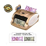 Bambalio BEE-3900 New Rs 500 & Rs 2000 Notes Counting & Detecting Fake Currency/money/Notes Counting Machine With Fake Note Detector & LCD Display-1 Year Warranty(Compatible With New Indian Currency-500 & 2000 Denomination)
