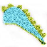 AccessoryStation® Mode unisexe nouveau-né garçon et fille Crochet tricoté Costume Tenues bébé Set Photo Photographie Prop-dinosaure