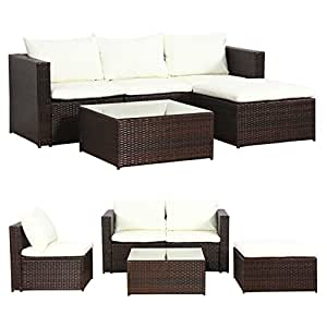 Rattan lounge braun  Amazon.de: