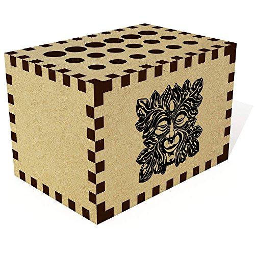 Azeeda 'Grüner Mann' Bleistift Block / Halter (PB00014627) -