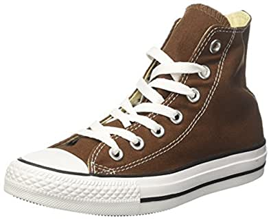 Converse Chuck Taylor Hi -  Sneaker unisex adulto - Chocolate, 36