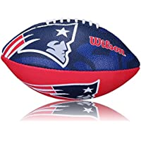 Wilson Football NFL Patriots Logo, Royal/Weiss, Junior, WL0206193140