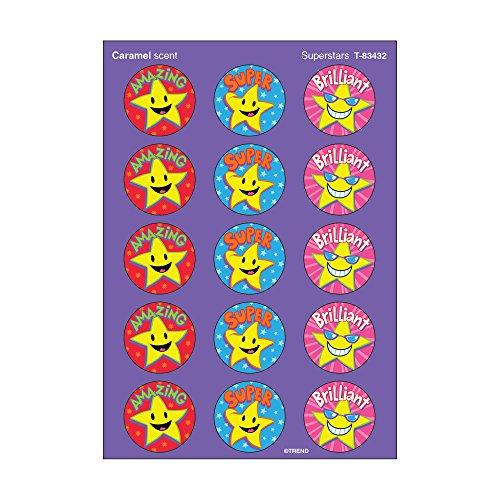 60-x-superstars-scratch-n-sniff-adesivi-caramello-aroma