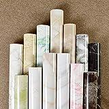 Etiqueta De Mármol Autoadhesivo Impermeable Muebles De Cocina De Alta Temperatura Reforma Papel Pintado 0.6 X 5m Verde Esmeralda