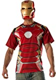 Generique - T-Shirt und Maske aus dem Film Iron Man 2 für Erwachsene L