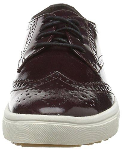 Tamaris 23608, Damen Sneakers, Rot (Bordeaux Pat. 580), 40