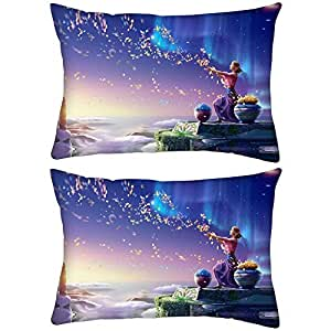 """Pack of 2 Spread Goodness Rectangle Toss Throw Pillow Cushion Cover Decoarative Pillow Cover 12 x 18"""""""