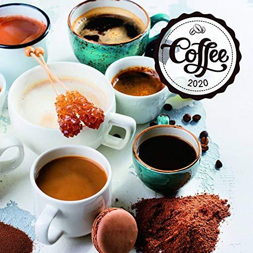 Presco - Wandkalender Kaffee - parfümiert 2020, 30 × 30 cm