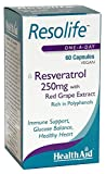 Best Trans Resveratrols - HealthAid Resolife Resveratrol 250 mg - 60 Vegan Review