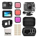 Kupton kit di accessori perGoPro Hero 8 include custodia impermeabile+protezione...