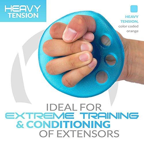 CHRONEX FINGER EXERCISER AND HAND STRENGTHENER
