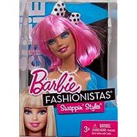 Barbie Fashionistas Swappin Styles Head - Cutie