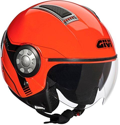 givi-casco-air-jet-111-con-doppia-visiera-m-rosso