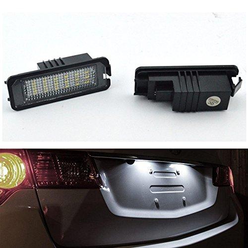 LED SMD Kennzeichenbeleuchtung passend für Skoda Superb II 3T Limousine E-Zeiche