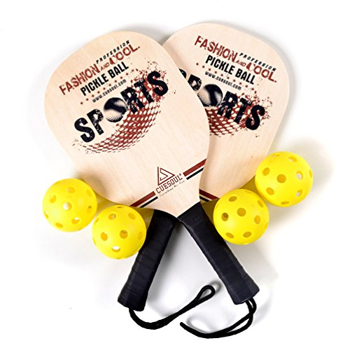 CUESOUL Tiglio Pickleball Paddle Bundle (set comprende 2 Pagaie e