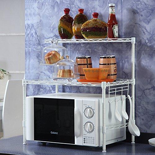 Cocina rejilla del horno microondas/Almacenaje/sazonado/Estante del almacenaje del baño del/Acabado de estante del almacenaje/Tierra IKEA-B