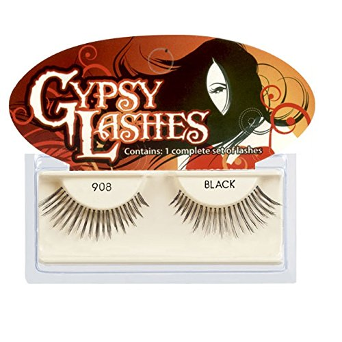 GYPSY LASHES False Eyelashes 908 Black