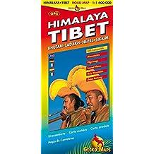 Tibet Himalaya Buthan-Ladakh-Nepal-Sikkim : 1/1 600 000