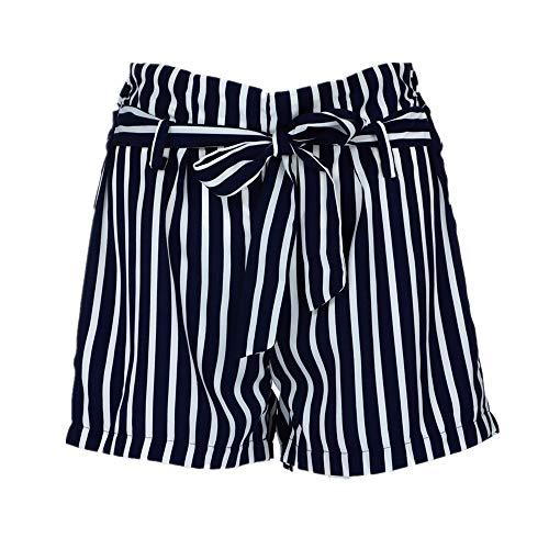 Vectry Damen Hosen Shorts Sommer Hotpants Bermudas Ultra Jeans Leggings Strand Laufgymnastik Yoga Der Sporthosen Schlafanzughosen - Streifen Print Elastic Beach (S, - Machen Sie Ein Zigeuner Kostüm