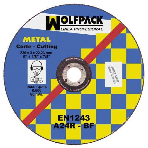 Wolfpack 9010235 Disque de coupe abrasif en métal 300 x 3 x 30 mm