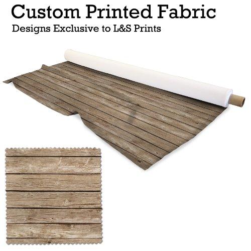 Holz drucken Design Digitale Strick Jersey bedruckter Stoff 149,9cm Breite hergestellt in Yorkshire (Drucken Stoff Lego)
