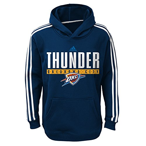Oklahoma City Thunder Youth Gioventù NBA Adidas Playbook Pullover Performance Sweatshirt Felpa