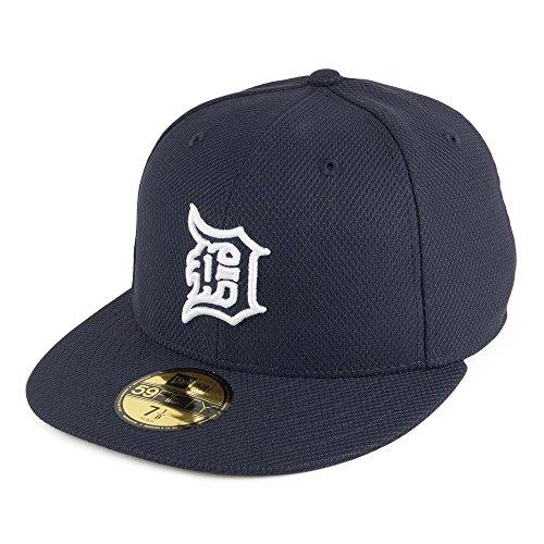 New Era MLB Diamond Era Auth 5950Cap Detroit Tigers OTC Herren, Herren, MLB Diamond Era Auth 5950 Detroit Tigers OTC, Blau (Navy)