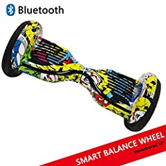 Idea Regalo - Dragon Hoverboard con Ruote da 10