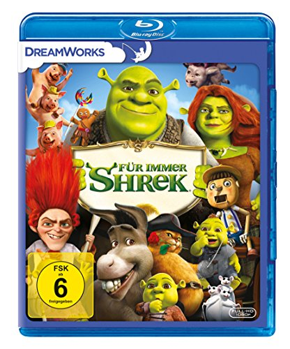 Shrek 4 - Für immer Shrek: Das große Finale [Blu-ray]
