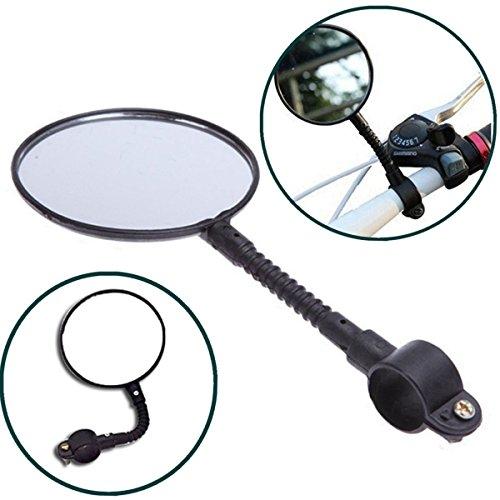 Wide Rollstuhl (TIANOR Superleichter Rückspiegel für Fahrrad Rückspiegel fahrradspiegel, Rückspiegel für Fahrrad, Mofa, Rollstuhl, Rollator, Roller Spiegel.)