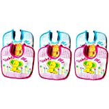 Baby Bibs For Girls And Boys, Set Of 6 Baby Drool Bibs, Super Soft, Waterproof, Newborn Baby Shower Gift, Toddler Girl Boy Bibs (Unisex-Baby, Set Of 6 Multicolor (Blue, Pink))