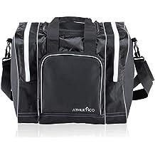 fed2856f96a46 Athletico Bowling Tasche für Single Ball - Single Ball Tasche mit  Gepolsterter Ballhalter - passt eine