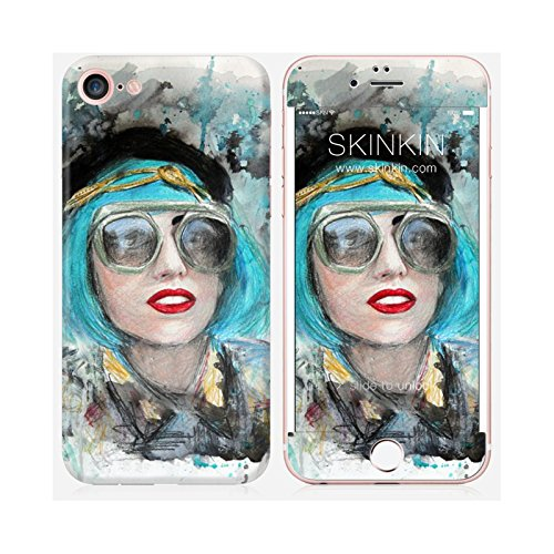 Coque iPhone 6 Plus et 6S Plus de chez Skinkin - Design original : Lady gaga glasses par Denise Esposito Skin iPhone 7