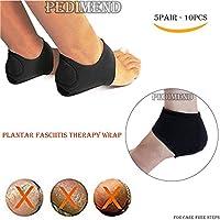 pedimend Plantarfasziitis Fuß Arch Support Wrap (5pairs–100)–Schnelle Muskelregeneration–Ferse Schutz Socken... preisvergleich bei billige-tabletten.eu