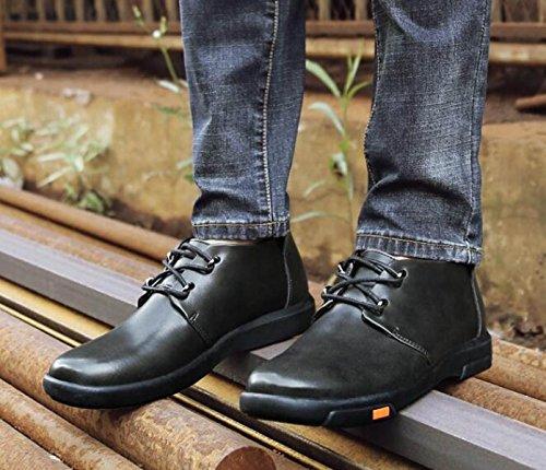 Autunno Alto Per Aiutare Scarpe Da Uomo Versione Coreana Moda Scarpe Inghilterra Scarpe Casual Grey