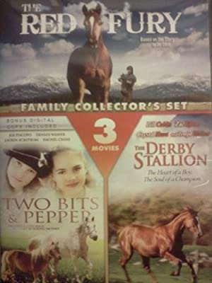 THE RED FURY / TWO BITS & PEPPER / THE DERBY STALLION - FAMILY COLLECTOR'S SET