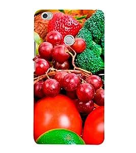 Fruits 3D Hard Polycarbonate Designer Back Case Cover for Xiaomi Mi Max