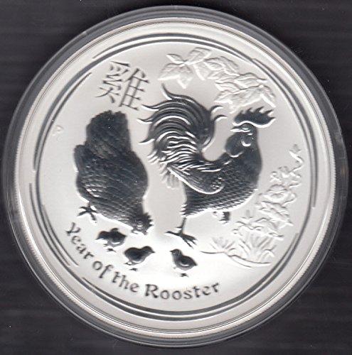 best website 4a66f 13827 Moneda de Plata lunar II 2017 del Año del Gallo – 1 onza Plata –  individualmente