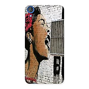Singing Girl Back Case Cover for HTC Desire 820s
